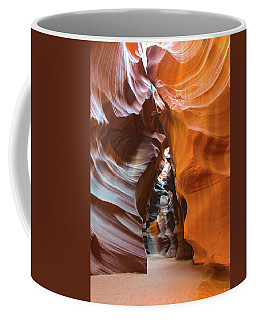 Coffee Mug featuring the photograph Antelope Canyon Glorious by Mark Duehmig