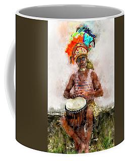 Antiguan Drummer Coffee Mug