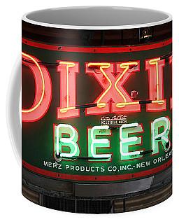 Antique Dixie Beer Neon Sign Coffee Mug