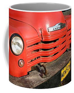 Antique Truck Red Cuba 11300502 Coffee Mug