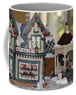 Antiques In Christmas Town Coffee Mug