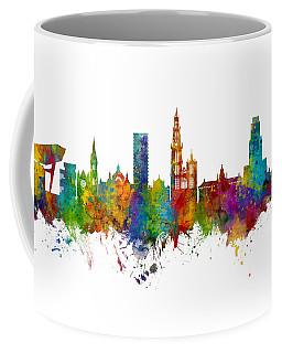 Antwerp Belgium Skyline Coffee Mug