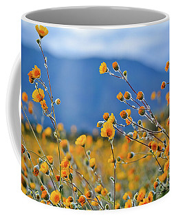 Anza Borrego Wild Desert Sunflowers Coffee Mug