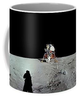 Apollo 11 Panorama Of The First Men Coffee Mug