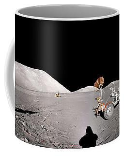Apollo 17 Taurus-littrow Valley The Moon Coffee Mug