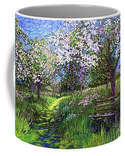 Apple Blossom Trees Coffee Mug