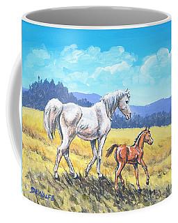 Arab Summer Sketch Coffee Mug