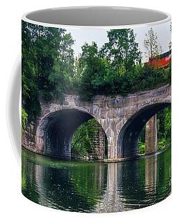 Arched Train Bridge   Coffee Mug