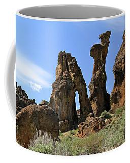 Arches Hoodoos Castles Coffee Mug