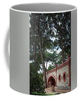 Architecture At The Gardens Of Cecilio Rodriguez In Retiro Park - Madrid, Spain Coffee Mug