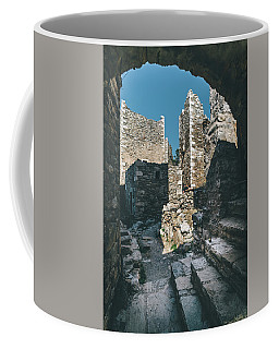 Architecture Of Old Vathia Settlement Coffee Mug