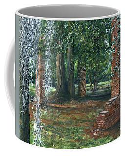 Ardoyne Ruins Near The Mansion, Houma, Louisiana Coffee Mug