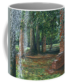 Ardoyne Ruins Near The Mansion, Houma, Louisiana Coffee Mug