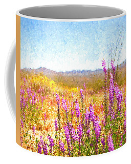 Arizona Lupin Coffee Mug