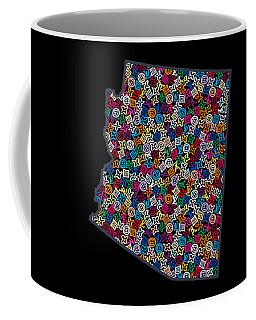 Arizona Map - 2 Coffee Mug