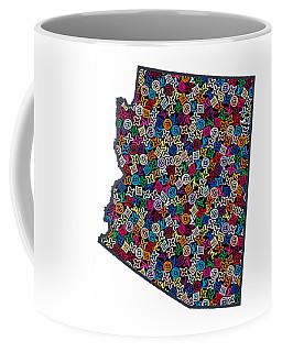 Arizona Map - 1 Coffee Mug