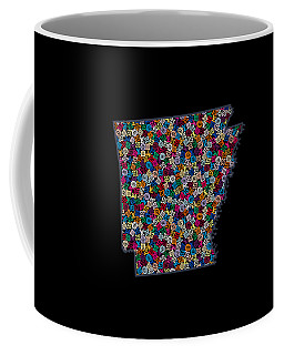 Arkansas Map - 4 Coffee Mug