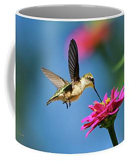 Art Of Hummingbird Flight Coffee Mug