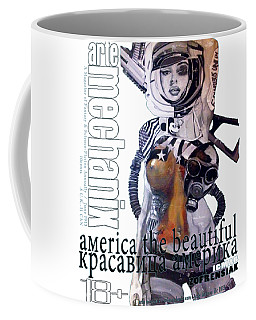 arteMECHANIX 1913 AMERICA THE BEAUTIFUL GRUNGE Coffee Mug