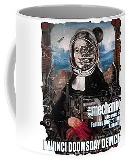 arteMECHANIX 1918 DAVINCI DOOMSDAY DEVICE  GRUNGE Coffee Mug