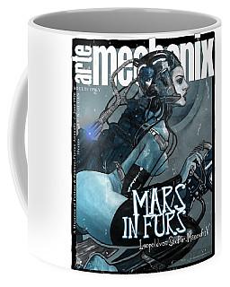 arteMECHANIX 1926 MARS IN FURS GRUNGE Coffee Mug