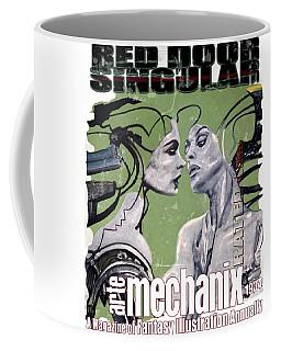arteMECHANIX 1934 RED DOOR SINGULAR  GRUNGE Coffee Mug