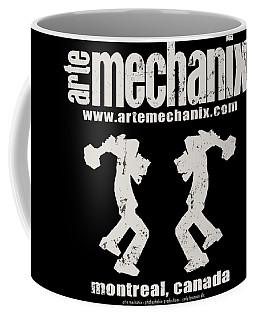 arteMECHANIX OFFICIAL LOGO  GRUNGE Coffee Mug