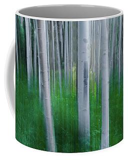 Artistic Aspens Panorama Coffee Mug