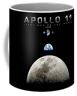 Apollo 11 First Man On The Moon Coffee Mug