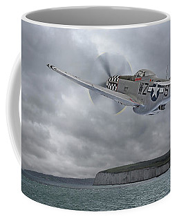 The Mission - P51 Over Dover Coffee Mug
