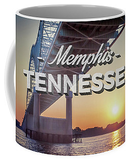 Bridge Over Mississippi River Coffee Mug