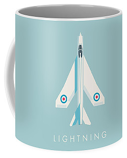 English Electric Lightning Fighter Jet Aircraft - Sky Coffee Mug