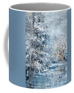 In The Snowy Silence Coffee Mug