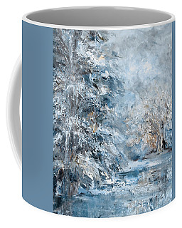 In The Snowy Silence Coffee Mug