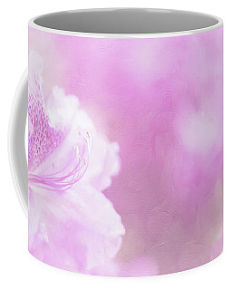 Soft And Lovely Pink Rhododendrons  Coffee Mug