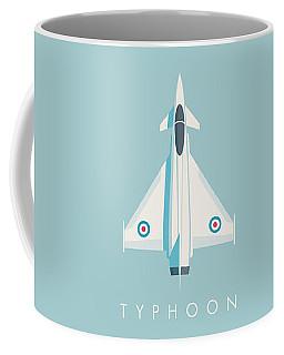Typhoon Jet Fighter Aircraft - Sky Coffee Mug