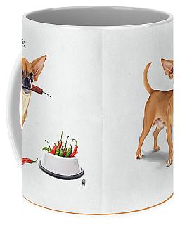Coffee Mug featuring the digital art Spicy by Rob Snow