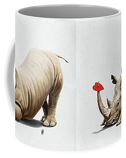Horny Wordless Coffee Mug