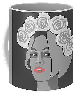 Beyonce In Black And White Coffee Mug