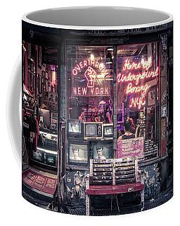 Underground Boxing Club Nyc Coffee Mug