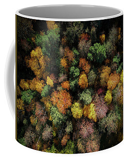 Autumn Forest - Aerial Photography Coffee Mug