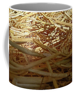Golden Straw Bed Coffee Mug