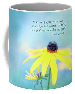 Joy And Gratefulness Coffee Mug