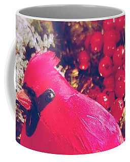 Coffee Mug featuring the photograph Blessed Yule by Rachel Hannah