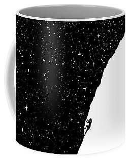 Night Climbing Coffee Mug