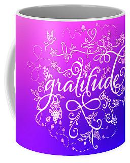 Purply Pink Gratitude Coffee Mug