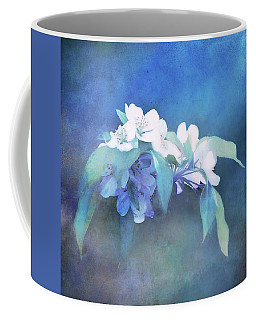 Painted Crabapple Blossoms Coffee Mug