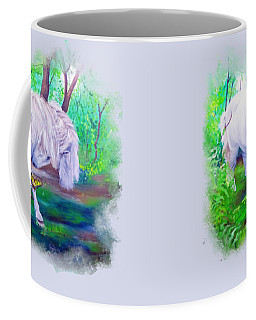 The Butterfly And The Pony Coffee Mug