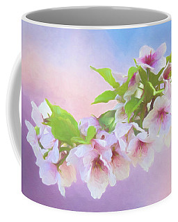 Charming Cherry Blossoms Coffee Mug