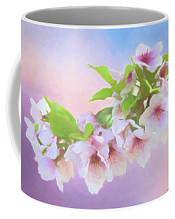 Charming Cherry Blossoms Coffee Mug